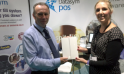 Datasym Presents Brod Pooley with his New iPad